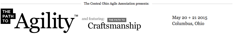 Path to Agility conference May 20-21 byCentral Ohio Agile Association